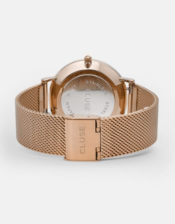 La Boheme Mesh Rose Gold White..