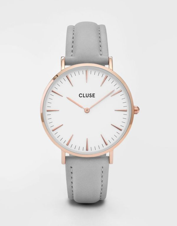 La Boheme Rose Gold White Grey