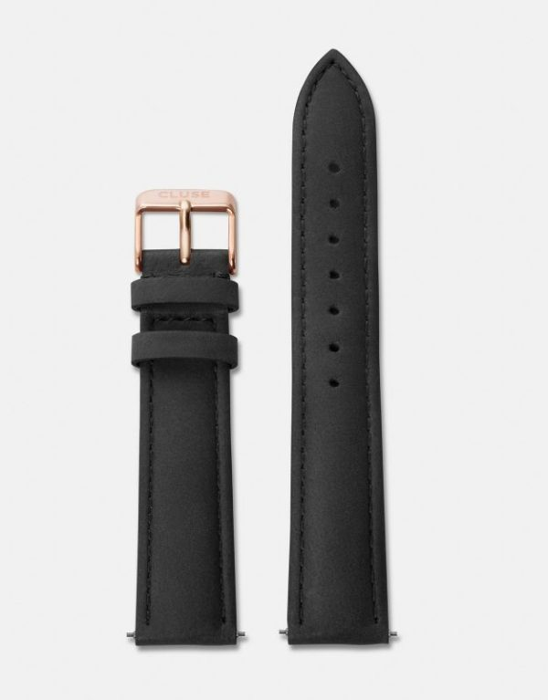 La Boheme Strap Black Rose Gold